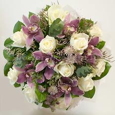 Букет Б157 с розами и орхидеями