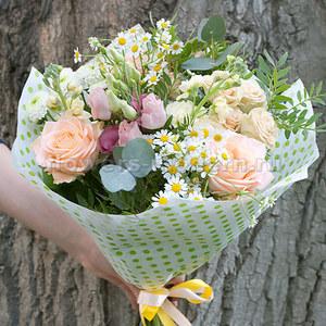 Букет Б326 из летних цветов