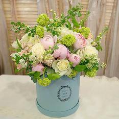 Коробка с цветами К150