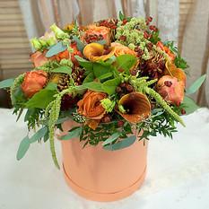Коробка с цветами К162