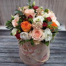 Коробка с цветами К221