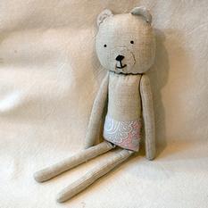 Авторская игрушка Медвежонок Р220. Ручная работа