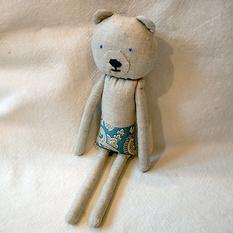 Авторская игрушка Медвежонок Р221. Ручная работа