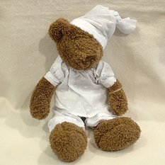 Мягкая игрушка Мишка в пижаме Р227