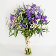 Букет невесты С004 из полевых цветов