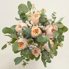 Букет С067 с пионовидными розами