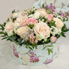 Коробка с цветами К119