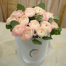 Коробка с цветами К144