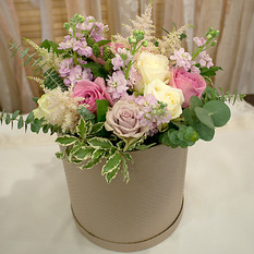 Коробка с цветами К153