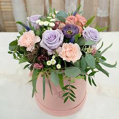 Коробка с цветами К167