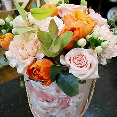 Коробка с цветами К220