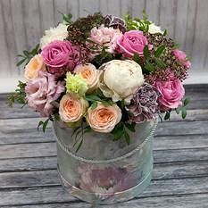 Коробка с цветами К222