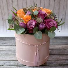Коробка с цветами К240