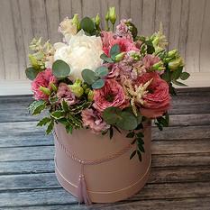 Коробка с цветами К262